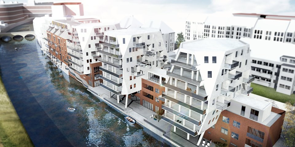 Riverhouses – Schleußig