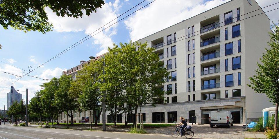 Interdruck Palais Neubau Dresdner Str. – Graphisches Viertel