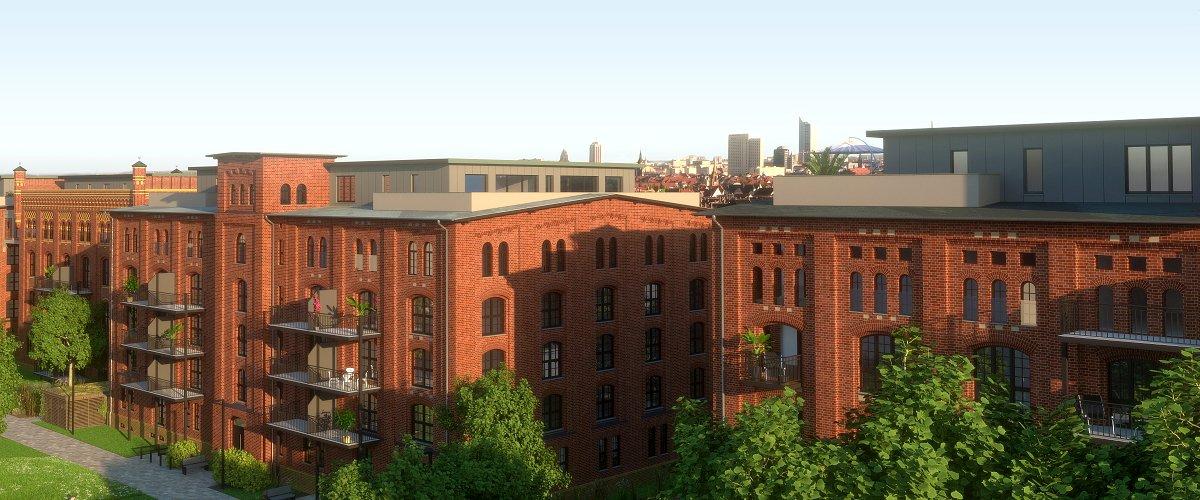 Heeresbäckerei Gohlis: Verkaufsstart der Penthouse-Wohnungen