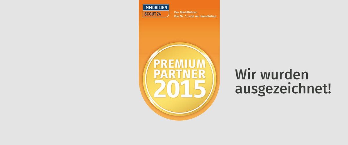 Immobilienscout 24 Premium Partner 2015