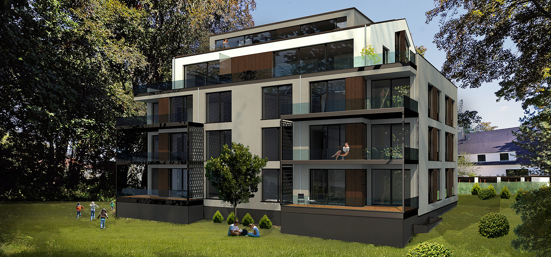 Neubau markkleeberg haus am see for Haus neubau