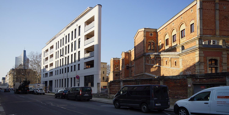 Neubau Immobilien Leipzig Goldschmidtstr. 35