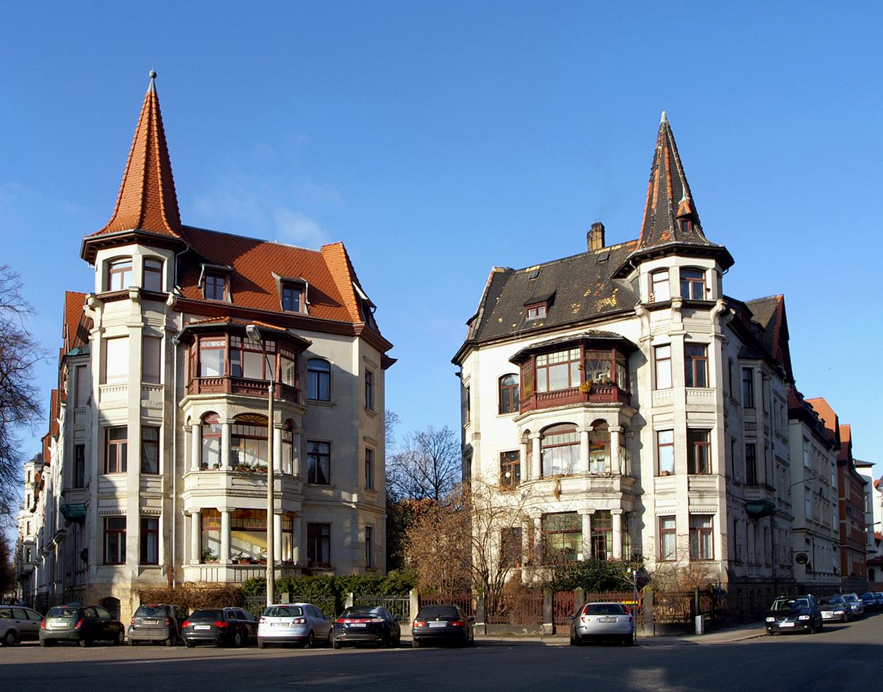Waldstrassenviertel Zentrum wohnen